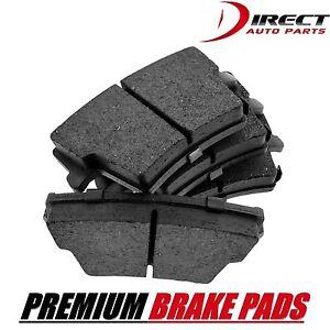 BRAKE PADS Complete Set Rear,Front Disc Brake Pad - Semi-Metallic Pad, Re