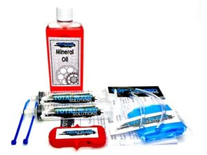 * TBS Bleed Kit for Shimano with mineral oil *  LX XT XTR ZEE Deore