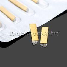 5Pcs Microblading Blades for Eyebrow Tattoo Permanent Makeup Manual Needles