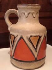 Scheurich 414/16 W.German ceramic jug mid century art