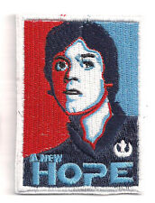 """Star Wars Luke """"Hope""""  3.5"""" Embroidered Patch- FREE S&H (SWPA-CD-99)"""