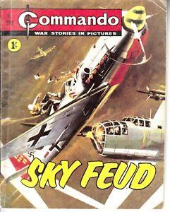 COMMANDO COMIC - No 355   SKY FEUD