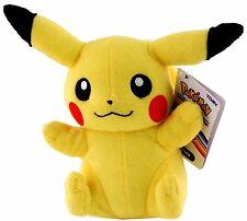 "Pokemon Pikachu 8"" Plush from head to toe-Authentic Rare Pokemon Plush-Brand New"