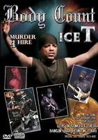 Body Count Featuring Ice T: Murder 4 Hire DVD New & Sealed- Fast Ship-00WOD47052