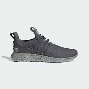 Mens Adidas Lite Racer Adapt 3 Grey Sneaker Athletic Slip On FZ0953 Sizes 9-14