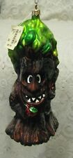"VINTAGE Christopher Radko EVIL WICKED TREE Glass Ornament 10"" Large"