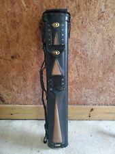 Leather Hard cue stick case