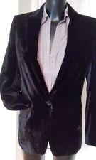 Button Coats & Jackets Evening Velvet for Women