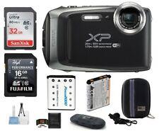 FUJIFILM FinePix XP130 Digital Camera (Dark Grey) 7 Piece Bundle