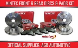 MINTEX FRONT + REAR DISCS AND PADS FOR DAEWOO NUBIRA 1.6 1997-03