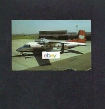 LAKE CENTRAL AIRLINES 1966 NORD 262 PROP-JET POSTCARD