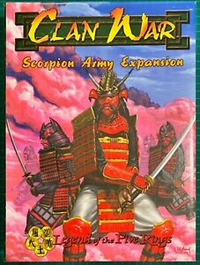 Scorpion Army Expansion Box  ( Clan War: Legend Of The Five Rings )
