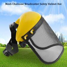 Schnittschutz Set Helm Schnittschutz Forsthelm mit vollem Gesichts Gitter-Visier