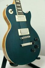 Stellar Mercury 007 Elite – Blue Quilt/Natural Back, Singlecut Electric Guitar