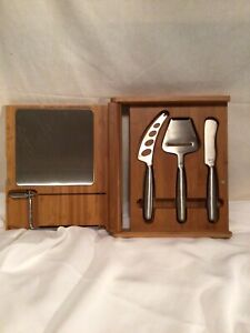 LEGACY GOURMET CHEESE SET IN BAMBOO  CASE