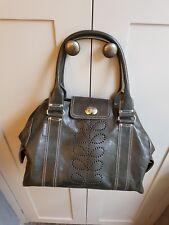 Orla Kiely Leather Handbag