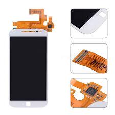 White Motorola Moto G4 Plus LTE XT1641 XT1642 LCD Display Touch Screen Digitizer