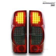 Eagle Eye Red Smoke Black Tail Rear Led Light Lamp Isuzu Dmax D-max 07-11 08 09