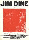 JIM DINE Red Bandana 30.75 x 22 Lithograph 1971 Pop Art Red
