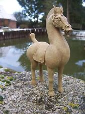 RE0070  FIGURINE  STATUETTE REPRODUCTION   CHEVAL HAN CHINOIS