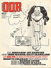 MAGAZINE OOR 1983 nr. 15 - UB 40 / IRON MAIDEN / MARILLION /OZZY OSBOURNE/SAMSON