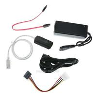 USB 2.0 to IDE SATA PATA Drive HD HDD Converter Adapter Cable +External Power