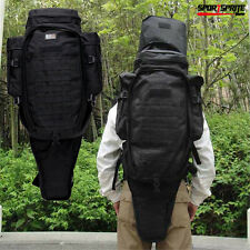 Military Tactical Rifle Backpack Wearproof Outdoor Backpack 60L Molle Gun Bag