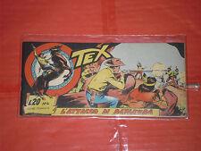 TEX STRISCIA ORIGINALE n° 4 -del 1956-12° SERIE topazio  -no araldo o zagor