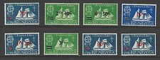 ST.PIERRE & MIQUELON # 314-321  MLH  SURCHARGED ISSUE