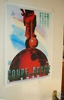 1938 World Cup Official Poster Repro