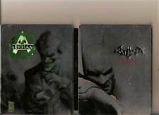 BATMAN ARKHAM CITY STEELBOOK WITH JOKER ON BACK PLAYSTATION 3 PS3