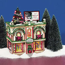 Department 56 Snow Village City Lights Christmas Trimmings Village