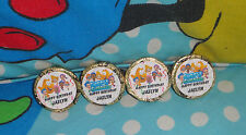 @**100 CUSTOM MADE BUBBLE GUPPIES BIRTHDAY KISS CANDY FAVOR LABELS/DECALS**@