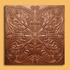 40 pc Antique Ceiling Tile - 20x20 ASTANA Metallic Copper Tin-Look