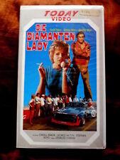 Die Diamanten Lady - Caroll Baker Today Video 80er Jahre VHS 1988 FSK 16 xx