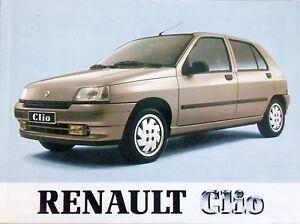 Bedienungsanleitung Renault Clio - Artikelnummer 77 11 094 428 NE 553 92 05 92