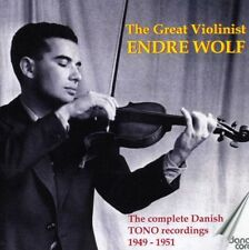 Endre Wolf - Great Violinist Endre Wolf [New CD]