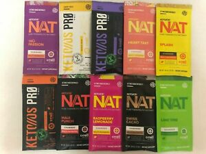 Pruvit Keto OS MAX NAT Ketones 10 Mixed Packs