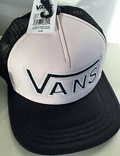NEW Vans Off The Wall Men's DROP V MESH Trucker Hat Cap PINK