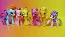 "6 G4 My Little Pony Mlp Brushable 3"" Inch Rare Horse Bundle Lot 2011 2010 Ponies"