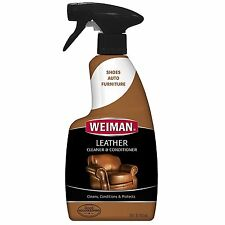 Weiman LEATHER CLEANER & CONDITIONER HOME FURNITURE AUTO INTERIORS High Quality