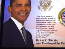 """Barack Obama """"Road to the White House"""" Commemorative 5 Coin Set."""
