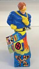 Vintage Cyclops X-men Bottle Soak Bubble Bath Toy Collectible Cartoon Super Hero