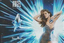 PUBLICITÉ PAPIER  -  ADVERTISING PAPER ANGEL THIERRY MUGLER 2 PAGES