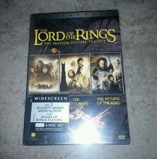 The Lord of the Rings: The Motion Picture Trilogy (DVD, 2004, Widescreen)