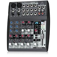 MIXER AUDIO PROFESSIONALE BEHRINGER XENYX 1002FX con effetti x KARAOKE PIANOBAR