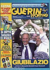 GUERIN SPORTIVO-2000 n.20- SPECIALE LAZIO SCUDETTO+INSERTO E FIGURINE EURO 2000