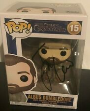More details for albus dumbledore  funko pop  --  hand signed by jude law  --  autographed