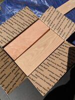 Hardwood lumber project pieces; Walnut, Mahogany, Oak, Maple, Poplar, Cherry,