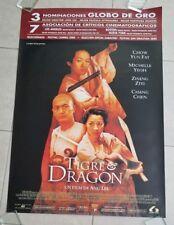 Crouching Tiger Hidden Dragon movie poster  - Chow Yun Fat